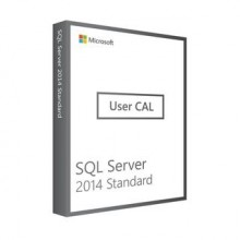 License Microsoft SQL Server 2014 User CAL Standard