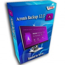 Acronis Backup 12.5 standard for Server