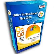 Office Professional Plus 2010 License 32/64-bit 1 PC Original