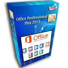 Office Professional Plus 2013 License 32/64-bit 1 PC Original