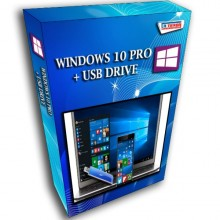 LICENSE WINDOWS 10 PRO 32 / 64 BIT + USB
