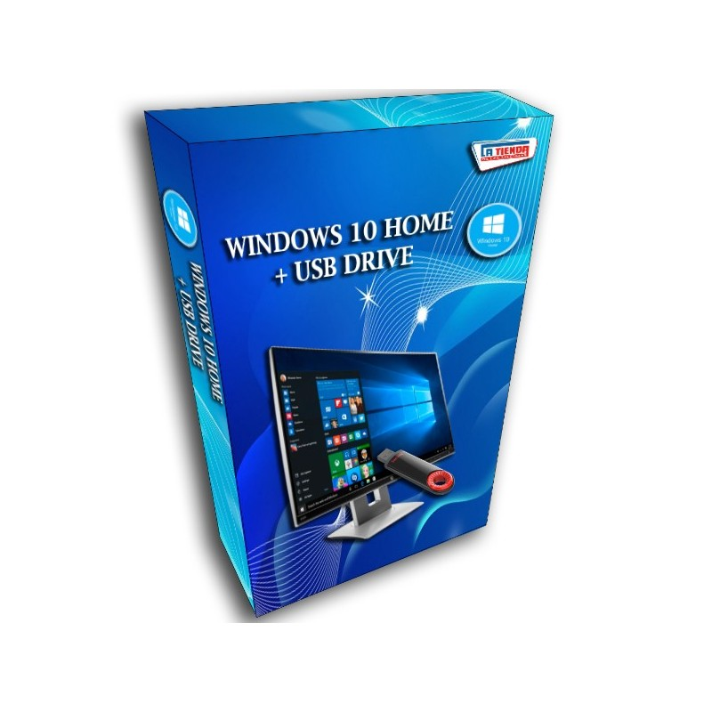 Windows 10 Home + USB