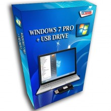 LICENSE WINDOWS 7 PRO 32 / 64 BIT + USB