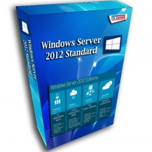 Microsoft Windows Server 2012 Standard License