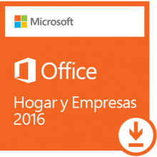 Licencia Office 2016 Home & Business para 1 PC o MAC