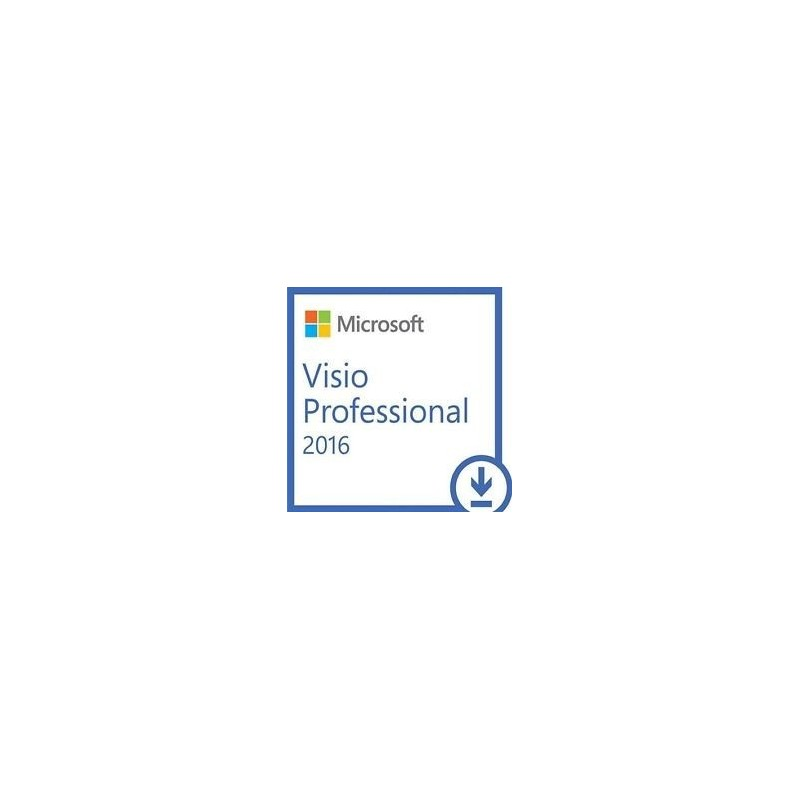 microsoft visio 2016 pro plus lizenz f r windows 32 64 bit la tienda de las licencias. Black Bedroom Furniture Sets. Home Design Ideas