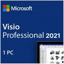 Licencia Visio Professional 2021 para 1 PC