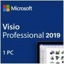Licencia Visio Professional 2019
