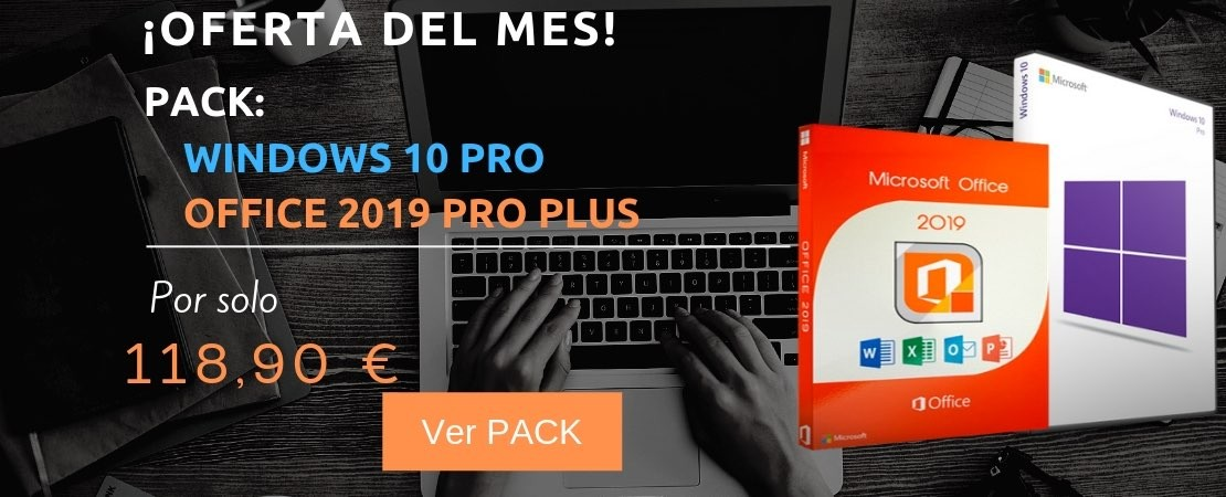 Windows 10 Pro + Office 2019 Pro
