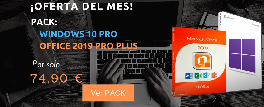 Windows 10 Pro + Office 2019 Pro